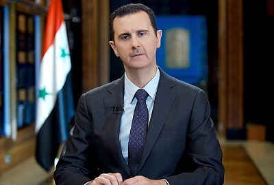 Syria's Assad says war turning in his favour