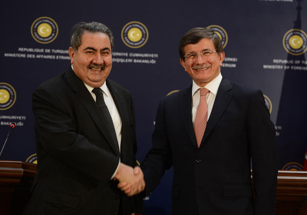 Turkey and Iraq agree to work together on Syria