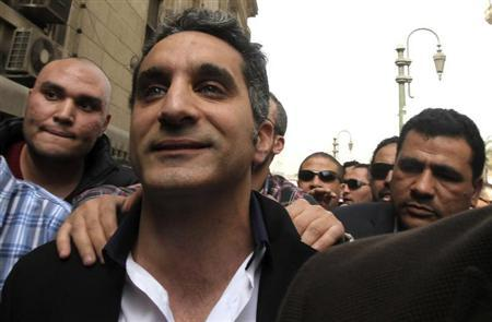 Egypt army to investigate comedian Bassem Youssef