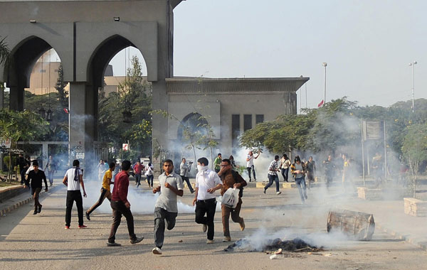 Student killed in protest at Cairo University