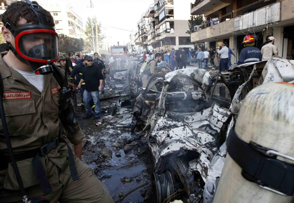 Two blasts target Iranian embassy in Beirut