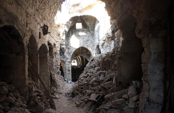 Turkey worried about strikes at Syria's battered Aleppo