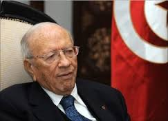 Tunisia's Essebsi urges protestors to stay away from violence