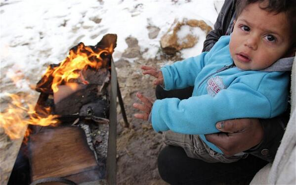 16 children freeze to death as Syrians struggle to survive