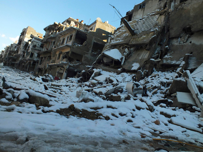 Six prisoners freeze to death in Syria