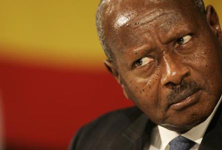 Uganda's Museveni calls on African nations to quit the ICC