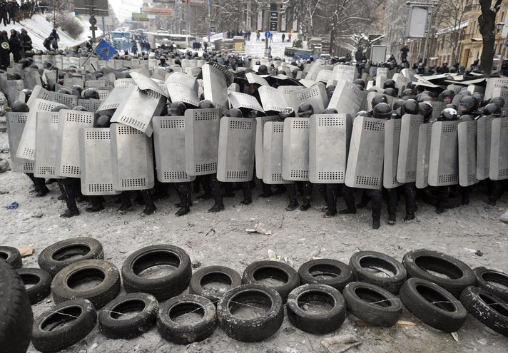 Germany trained Ukraine's riot troops