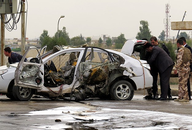 Roadside bomb kills 3 in Iraq's Kirkuk
