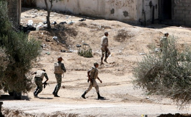 Attack on army convoy kills 11 in Egypt's Sinai