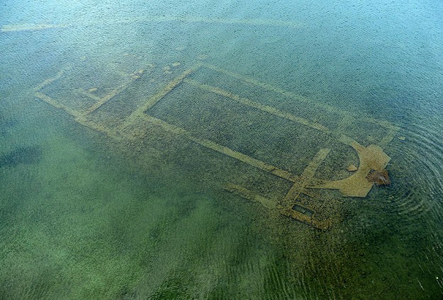 1500-year-old basilica discovered under Lake Iznik
