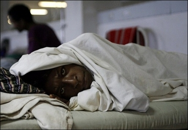 Dirty medical care blamed for Cambodian HIV outbreak