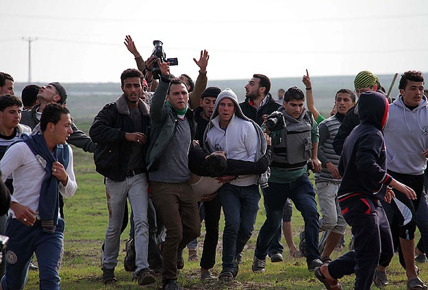 Scores of W. Bank Palestinians teargased by Israel