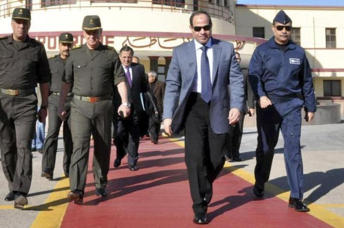 Cairo bomb wounds at least 3 at pro-Sisi rally