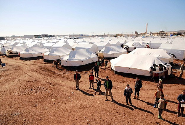 Turkish charity IHHestablishes new tent cities for Syrian refugees
