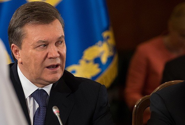 Yanukovich says will 'continue struggle for Ukraine's future'
