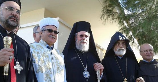 Religious leaders express support for Cyprus talks