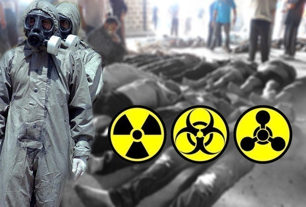 Syria chemical weapons store attacked by rockets
