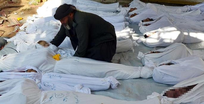 US sees signs of new chemical attack in Syria