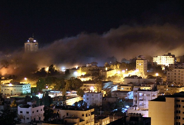 Palestinian youth and baby injured in Israeli raids on Gaza