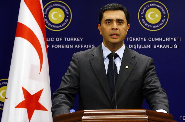 Turkish Cypriot FM calls for return to negotiations on Cyprus issue