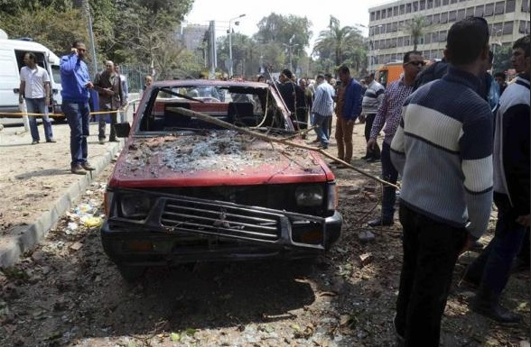 Student injured in Egypt university bomb blast
