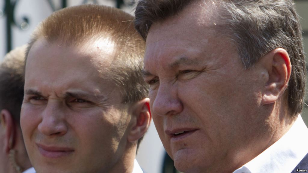Ukraine orders arrest of Yanukovich's son