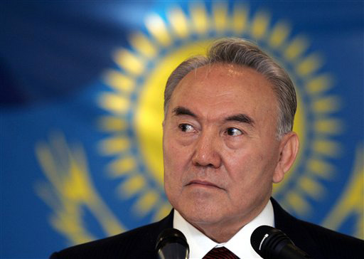 Kazakh president expresses fears over nuclear pact