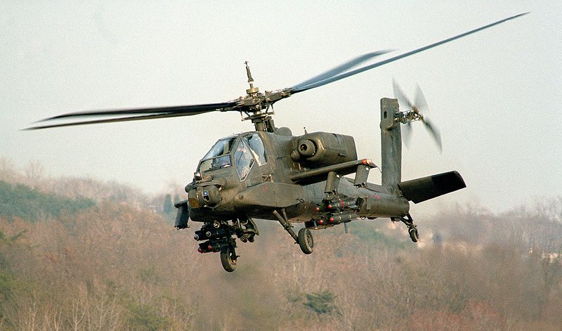 US to deliver Apache helicopters to Egypt 'soon'