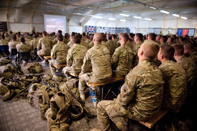 UK to send hundreds of troops to Iraq - newspaper