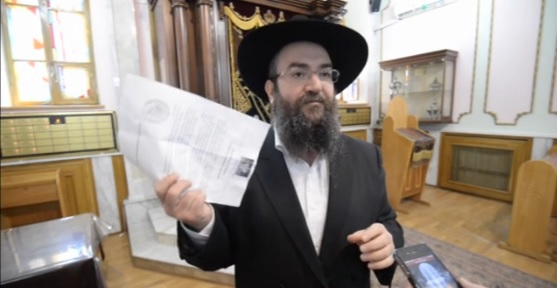 Ukrainian Jews say they will not leave Odessa