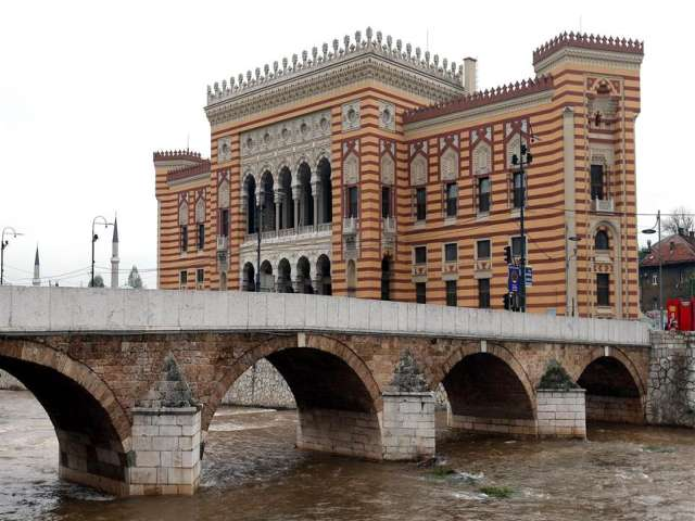 Sarajevo reopens landmark city hall and library destroyed in war