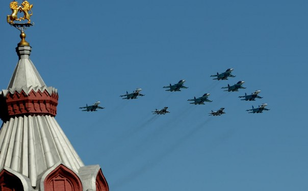 Russia stages big Victory Day parade amid Ukraine crisis