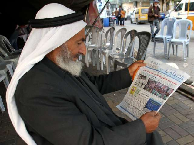 Pro-Hamas newspaper back on sale in West Bank in new unity step