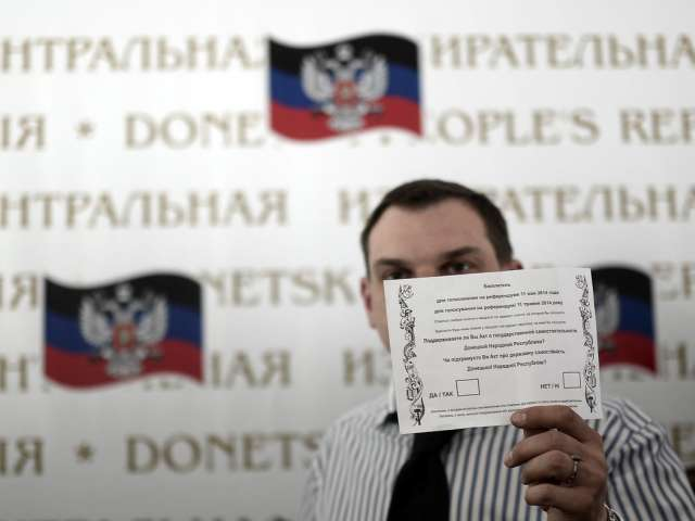 Kiev: East Ukraine rebels vote for self-rule would be catastrophe