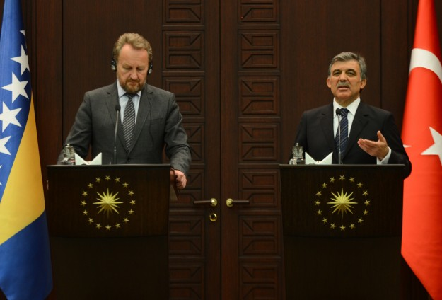 Turkey to continue its support of Bosnia