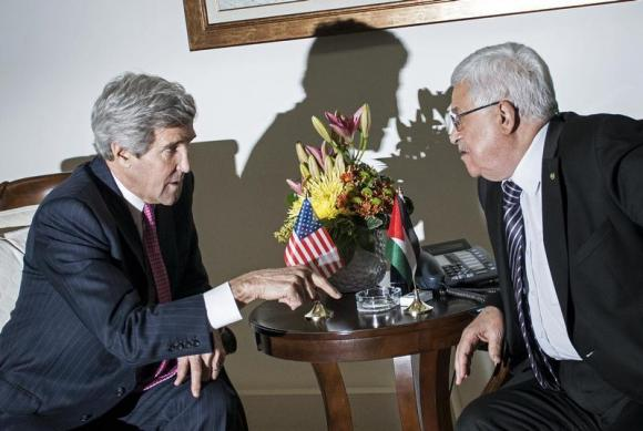 Abbas, Kerry discuss Palestinian unity over phone