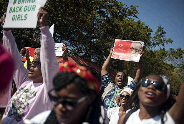 Nigeria girls protesters to challenge ban in court