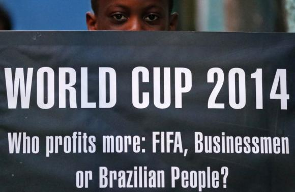 Rousseff defends Brazil's World Cup spending