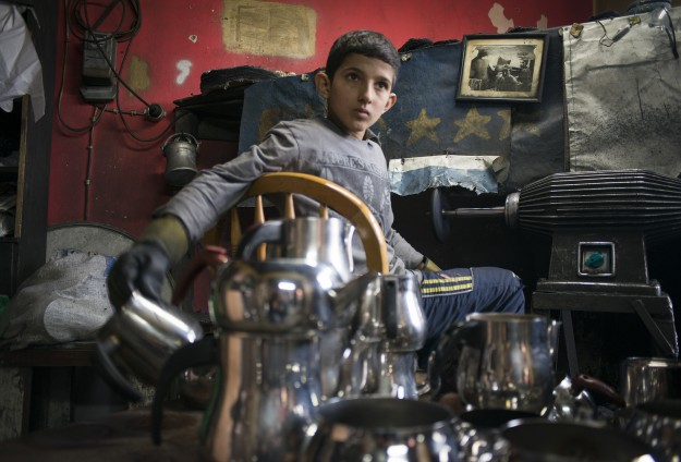 Syrian refugee children in Lebanon forced to work