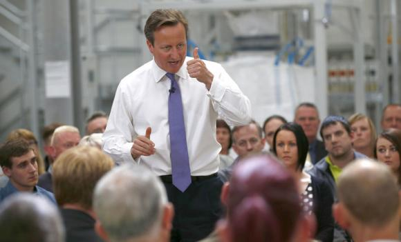 British PM begs Scots: Don't rip our 'UK family' apart -UPDATED