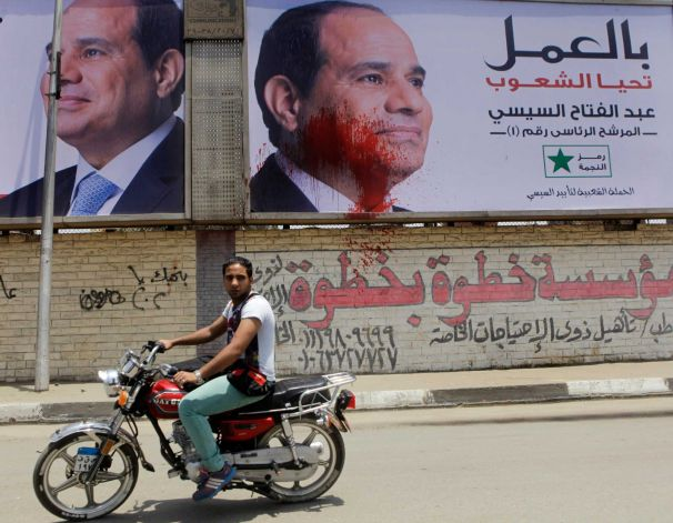 Lower Egypt voter turnout raises questions for Sisi