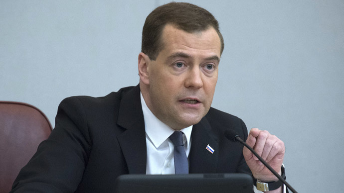Russian PM Medvedev says Crimea is Russia's destiny