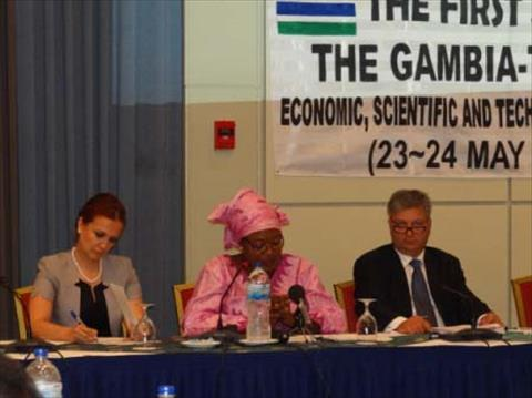 Relations strengthened after Turkey-Gambia forum