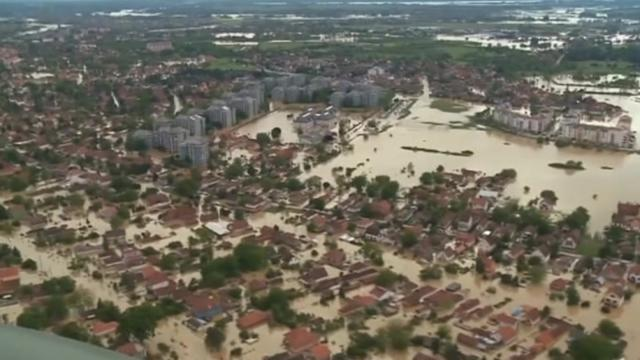 Donors pledge 1.8 bln euros for flood-stricken Balkan states
