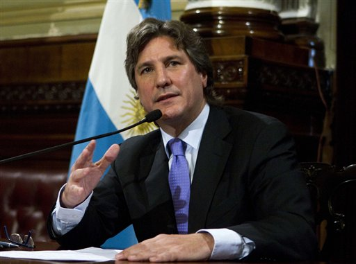 Argentina vice president to testify in corruption probe
