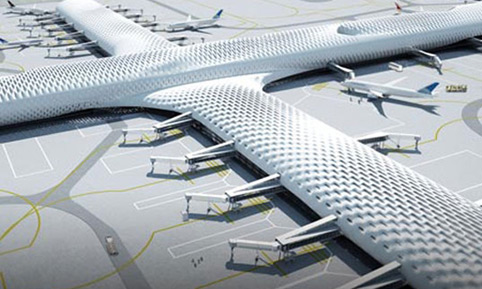 Building of Istanbul's third airport begins