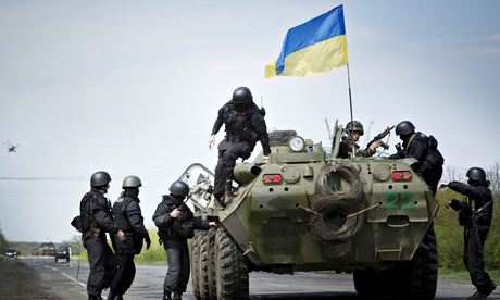 US to train, arm Ukraine national guard in 2015