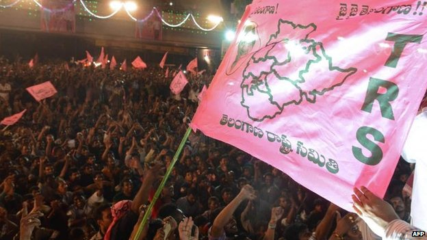 New state of Telangana is born in southern India