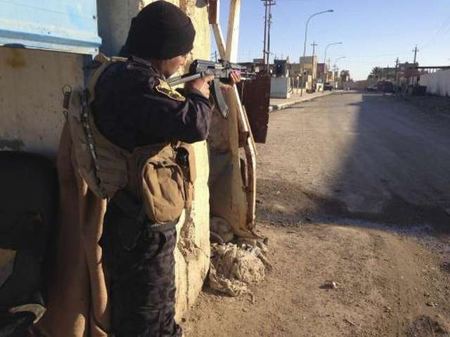 Iraqi forces clear ISIL from Al-Baghdadi