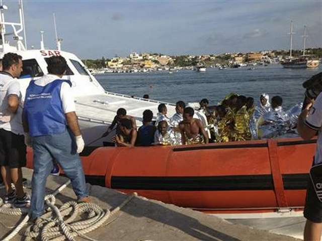 Forty migrants reported drowned in Mediterranean